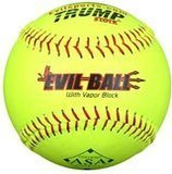 "Evil Ball 12"" Slow Pitch Softball, 12-Pack"