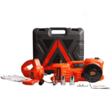 DINSEN Electric Hydraulic Floor Jack Set
