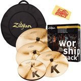 Zildjian Worship Pack Cymbal Set Bundle