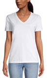 Lands' End Relaxed Supima Cotton T-Shirt