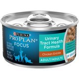 Purina Pro Plan Focus Urinary Tract Health Formula Adult Wet Cat Food, (24-pack, 3 ounces each)